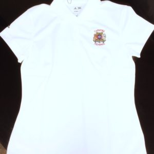 Womens-white-golf-tee